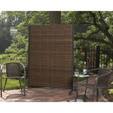 portable outdoor wicker privacy partition for backyards swivel wicker patio chairs