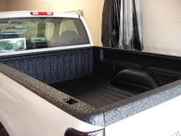 professional spray bedliner job