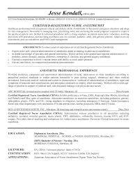 Resume Sample For Er Nurse A Job Of First Nursing Y Sevte