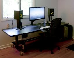 home office gaming computer. Lovable Gaming PC Desk Setup Simple Modern Furniture Ideas With 1000 Images About On Home Office Computer F