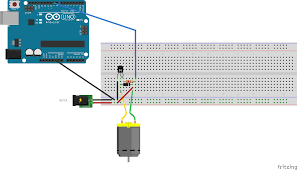 controlling a dc motor speed arduino electrical engineering enter image description here arduino dc motor