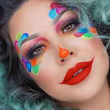 cutest friendly clown makeup by far
