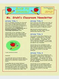 schools newsletter ideas e newsletter templates the best websites for free high quality ms