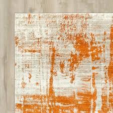 wrought studio ferrint orange area rug reviews wayfair orange area rug orange area rugs home depot