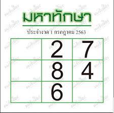 เลขเด็ด1/7/63' แฮชแท็ก ThaiPhotos: 59 ภาพ