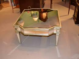 antique mirrored coffee table