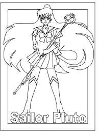 Small Picture Coloring Pages Anime Coloring Pages