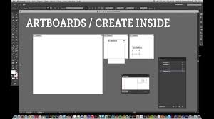 Illustrator Cc How To Create New Artboards Within Existing Artboards Tutorial