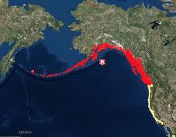 tsunami warning map for alaska