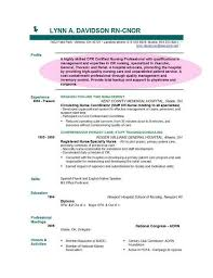 Student Resume Dayjob Example Of A Comprehensive Resume Nurse