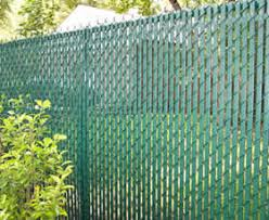 Chain Link Fence Slats Green And Decor