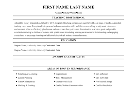 Professional Development Resume For Teachers Sales Teacher