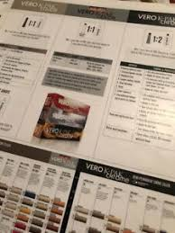 Details About Joico Vero Ultra 3 Lines Color Chart Sheet