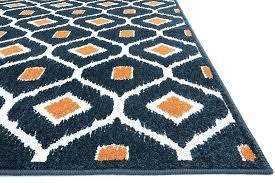 door nice orange and blue area rug 24 rugs c reef indoor outdoor living room