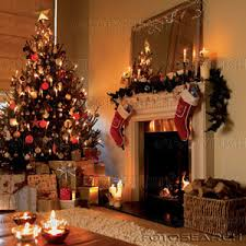 Entracing Inside Christmas Decorations Dazzling House Happy Holidays