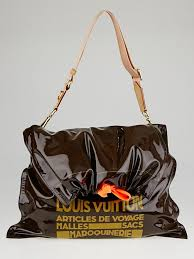 Louis Vuitton Raindrop Besace garbage bag
