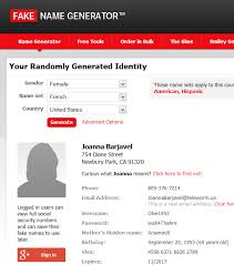 Fake On Generator Lorelle Wordpress Example Name «