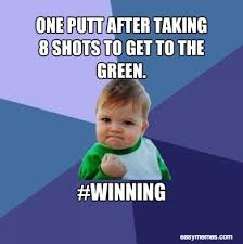 Image result for golf meme funny