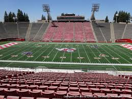 Selland Arena Fresno Ca Seating Chart Bulldog Stadium Ca View From Section 31 Vivid Seats