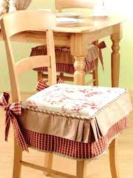 dining chair pads kitchen cushions with ties exciting seat for chairs prepare 9