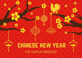 Chinese New Year Card The Enthralling Ideas For Chinese New Year Fire Rooster Year