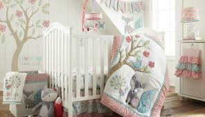pink bedding blanket baby skirt gold set comforter chevron yellow white cot gray sheet elephant crib