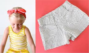 Fabric Days Of The Week Chart Pattern Kid Shorts Ages 12 Months To 10 Years Made Everyday