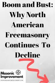 Freemason Organization Chart Boom And Bust Why North American Freemasonry Continues To
