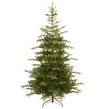 National Tree Company 7-1/2 ft. Feel Real Norwegian Spruce Hinged ...