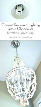 replace pendant light with recessed light replace recessed lighting lovely how to change light installing pendant