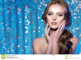 winter woman model gorgeous beauty makeup stylish hairstyle you