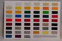 Item Poly Chart Poly Fiber Color Chart On Wicks Aircraft