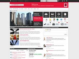Small Picture 46 best Intranet Homepage Examples images on Pinterest Design