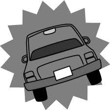 普通の車のイラスト フリーイラスト素材 変な絵net
