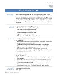 hair stylist resume templates and job descriptions hair stylist resume