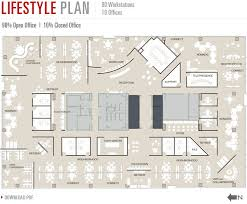 office space plans.  space 180 walnut at the banks  floorplans large flexible floor plates intended office space plans