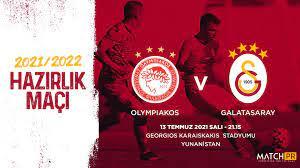 """Galatasaray SK on Twitter: """"Futbol A Takımımız, 13 Temmuz Salı günü saat  21.15'te Olympiakos ile Yunanistan'da hazırlık maçında karşı karşıya  gelecektir.… https://t.co/YlyiFdDyma"""""""