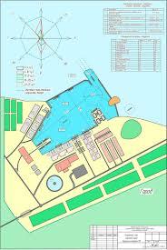 Благоустройство курсовая работа территории парка Чертежи РУ Курсовой проект Генеральный план морского порта