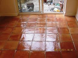 Terra Cotta Tile In Kitchen Stone Cleaning And Polishing Tips For Terracotta Floors