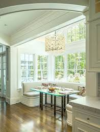 breakfast area lighting. Breakfast Nook Lighting Dining Room Traditional With Banquette Seating . Area