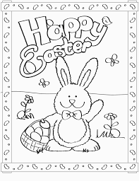 Free Printable Easter Bunny Coloring Pages For Kids For Easter