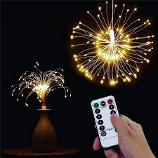 string lights firework battery operated decorative fairy light for garland patio wedding parties led auto led spot light from yksztech 11 36 dhgate