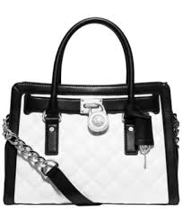 MICHAEL Michael Kors Hamilton Quilted East West Satchel - Handbags ... & MICHAEL Michael Kors Hamilton Quilted East West Satchel Adamdwight.com