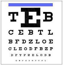 California Dmv Eye Chart Do It Yourself Vision Test Willa Hisle O D
