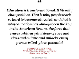 empowering quotes from women in politics reader s digest education is transformational ldquo