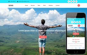 Travel Templates Safari A Travel Category Flat Bootstrap Responsive Website Template