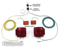 wiring diagram for 4 wire trailer lights the wiring diagram fix bad boat and utility trailer wiring the family handyman wiring diagram