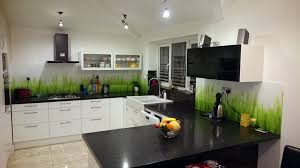 Splashback For Kitchens Printed Glass Splashbacks For Kitchens Colour 2 Glass