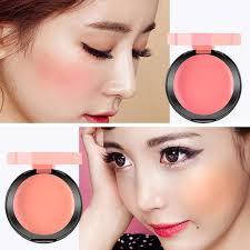 brand face blusher palette soft moisturizing waterproof cream blush makeup soft silky bronzer sweet glow cheeks
