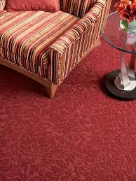 Carpet Designs For Home Living Room Hgtvcom Stainmasterc02152dhazurevredcarpetedrooms3x4 Todays Carpet Trends Hgtv